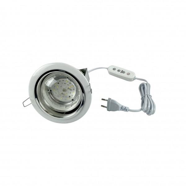 AGALAX FLORA down light LED 15 ВТ Е27 таймер UST-E32 WHITE 2M